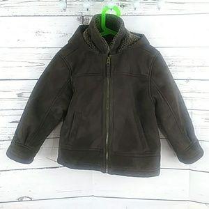 🍫Chocolate Faux Shearling Coat